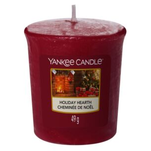 Holiday Hearth Sampler Votive Candle