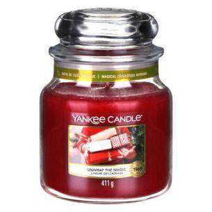Unwrap The Magic Medium Jar Candle