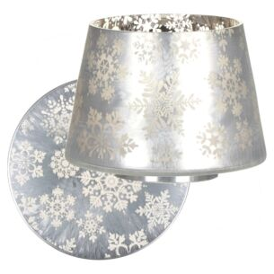 Snowflake Frost Large Shade & Tray