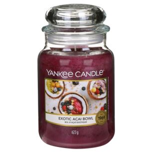Exotic Acai Bowl Large Jar Candle