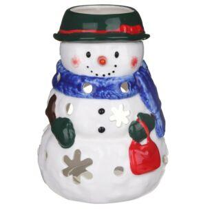 Snowwoman Small Tealight Holder