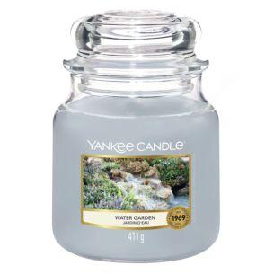 Water Garden Medium Jar Candle