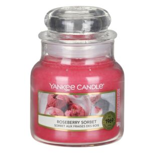 Yankee Candle Roseberry Sorbet Small Jar Candle