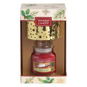 Magical Christmas Morning Small Jar Candle and Shade Gift Set