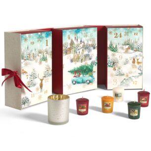 Magical Christmas Morning Advent Calendar Book