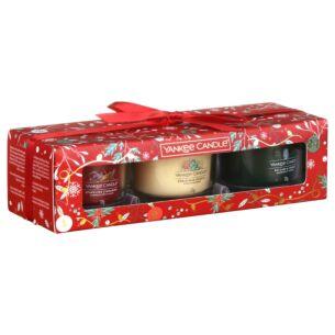Countdown to Christmas Three Filled Votive Gift Set
