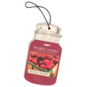 Black Cherry Car Jar Air Freshener