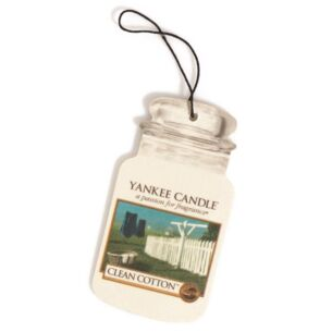 Clean Cotton Car Jar Air Freshener