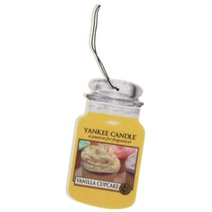 Vanilla Cupcake Car Jar Air Freshener