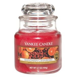 Mandarin Cranberry Small Jar Candle