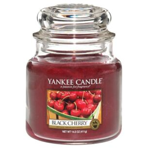 Black Cherry Medium Jar Candle