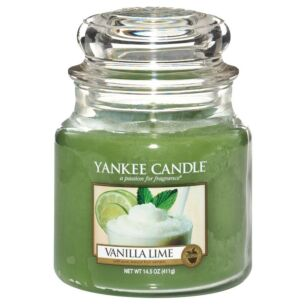 Vanilla Lime Medium Jar Candle