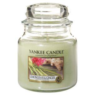 Lemongrass & Ginger Medium Jar Candle