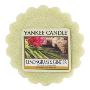 Lemongrass & Ginger Wax Melt Tart