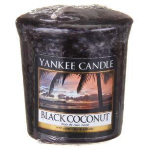 Black Coconut Sampler Votive Candle