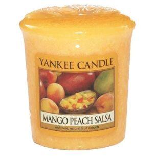 Mango Peach Salsa Sampler Votive Candle