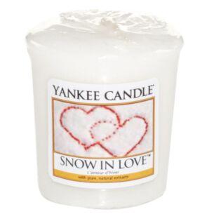 Snow In Love Sampler Votive Candle