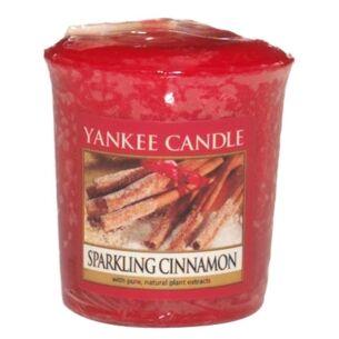 Sparkling Cinnamon Sampler Votive Candle