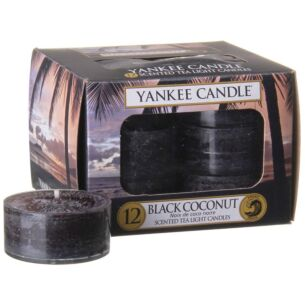 Black Coconut Pack of 12 Tealights