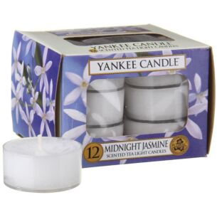 Yankee Candle Midnight Jasmine Pack of 12 Tealights