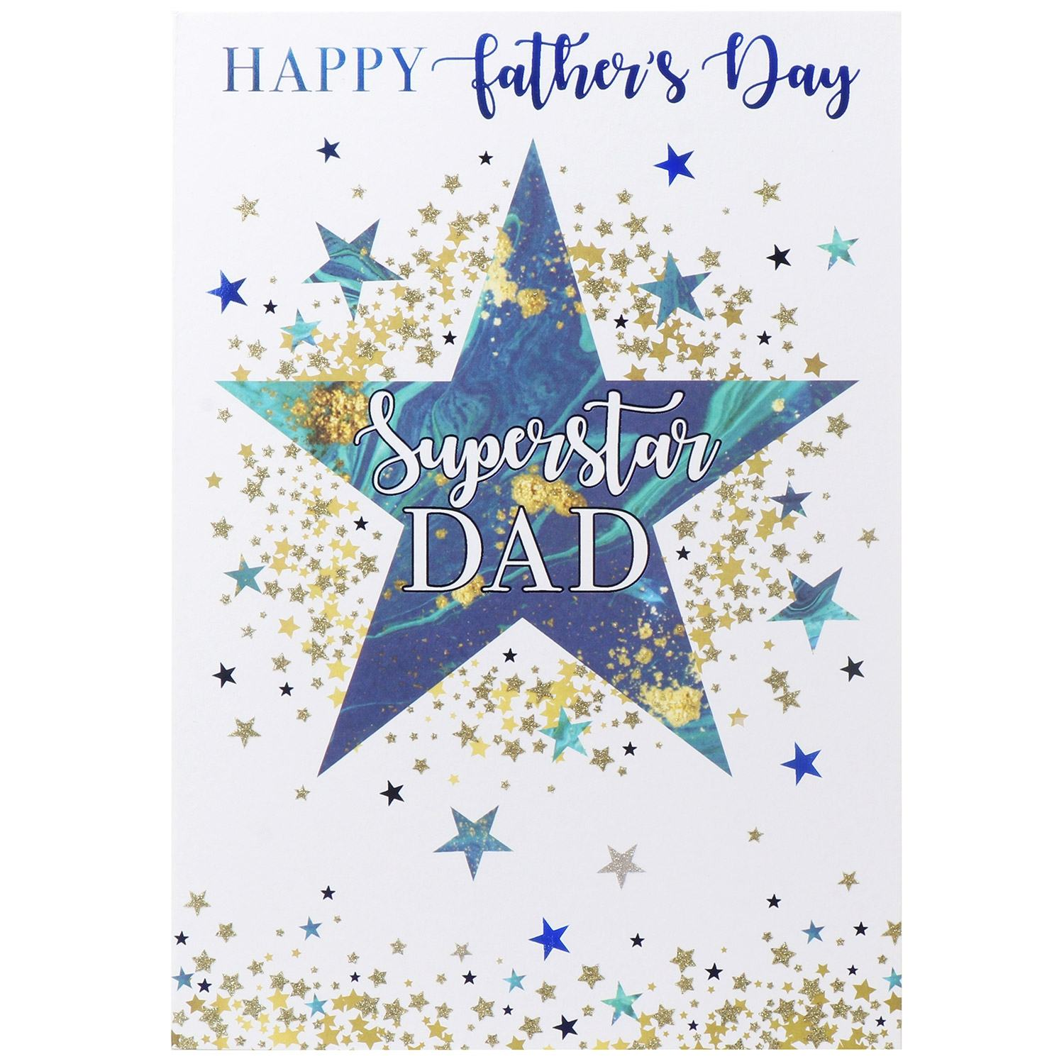Large 'Superstar Dad' Father's Day Card