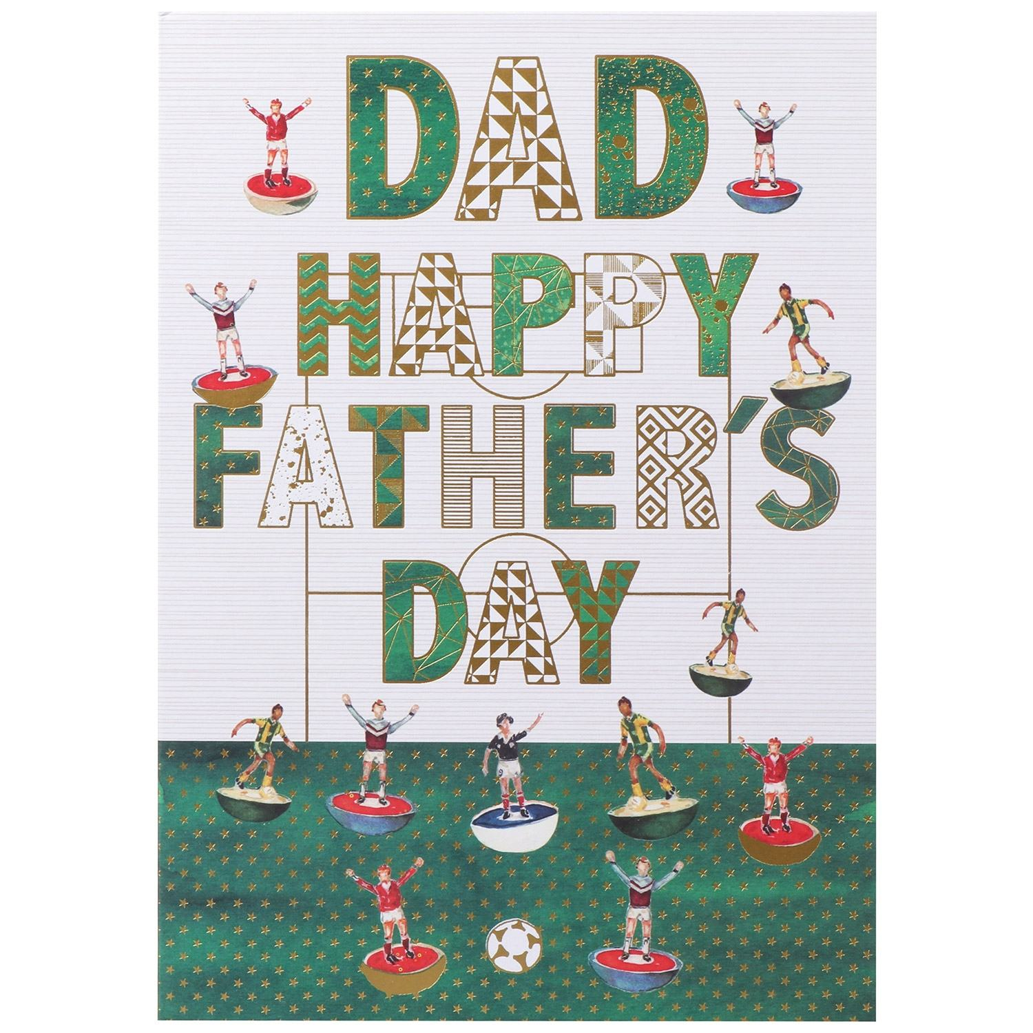 Large 'Subbuteo' Father's Day Card