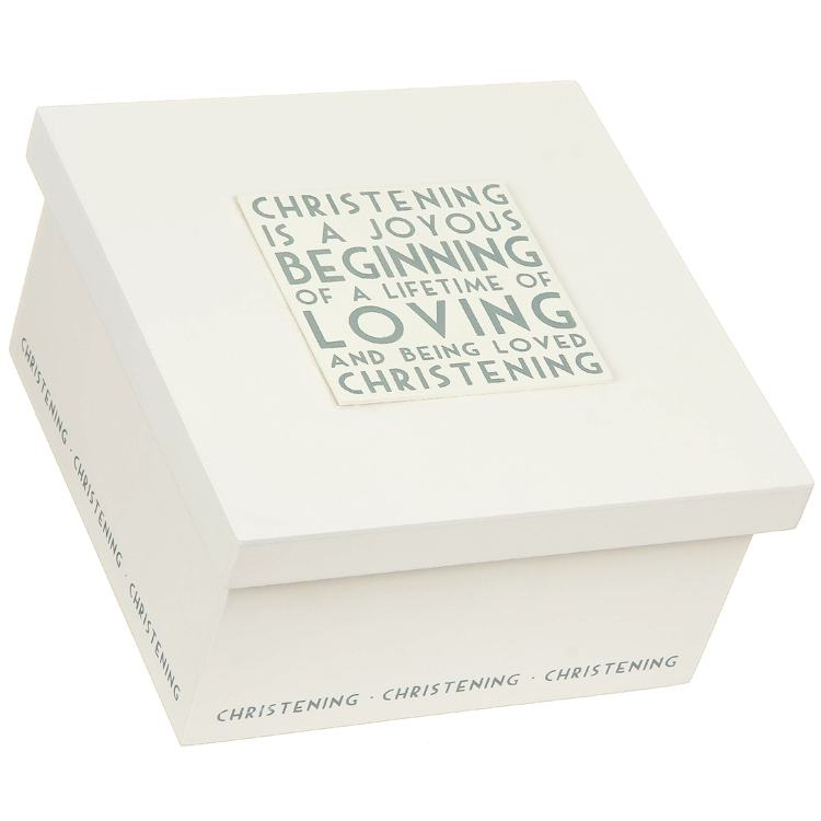 East of India Christening Box