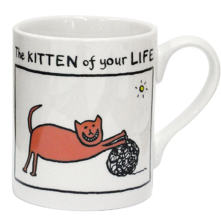 Edward Monkton The Kitten of Your Life Mug