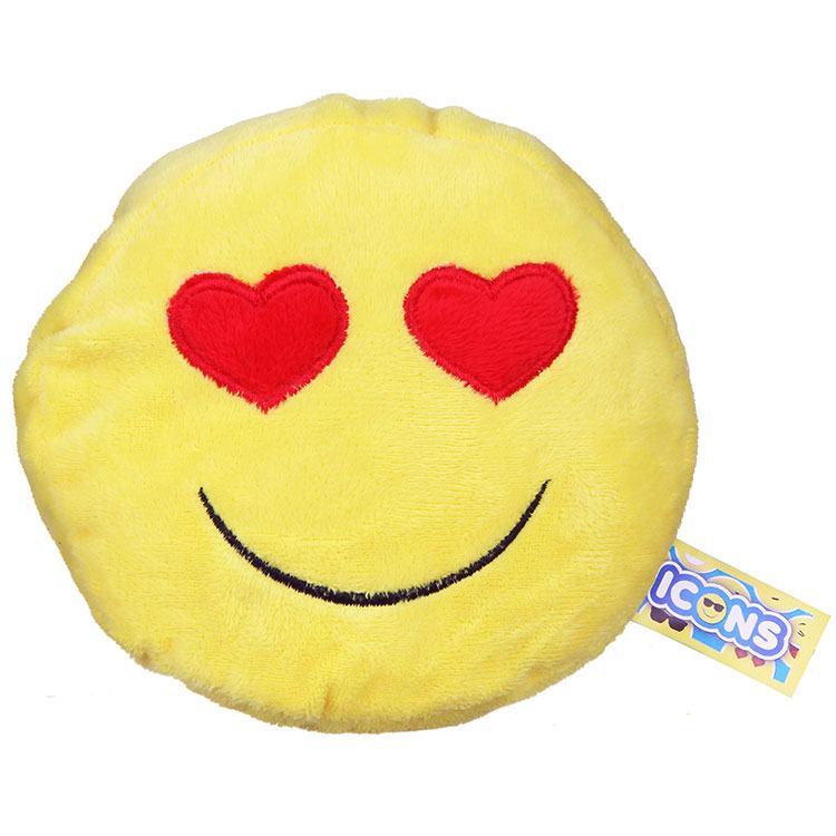 Heart Eyes Emoji Icon Small Plush