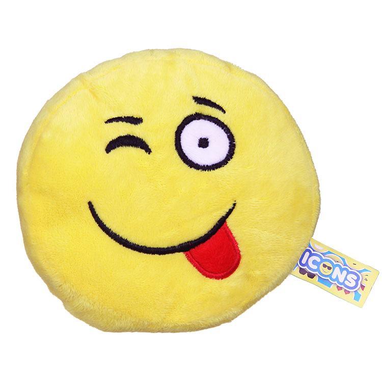 Tongue Out Emoji Icon Small Plush