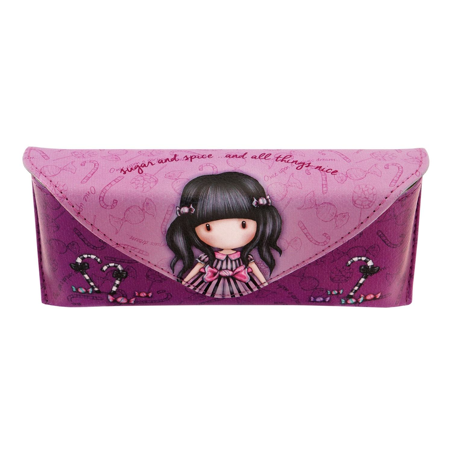 Gorjuss Sugar and Spice Large Glasses Case
