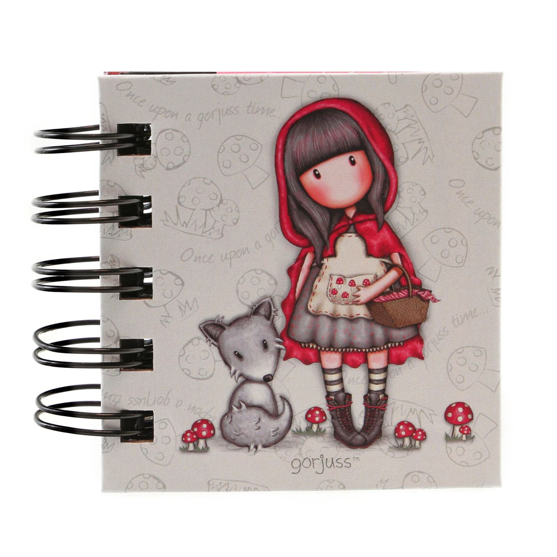 Desktop Articles & Accessories|Paper, Writing Pads etc.|Stamps|Notebooks & pads|Purses & Wallets|Cups & Mugs|Calendars|Gifts for Women|Wedding Gorjuss Little Red Riding Hood Wirobound Book of Sticky Notes