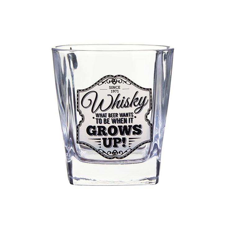 Gentlemens Quarters Whisky Glass Grows Up