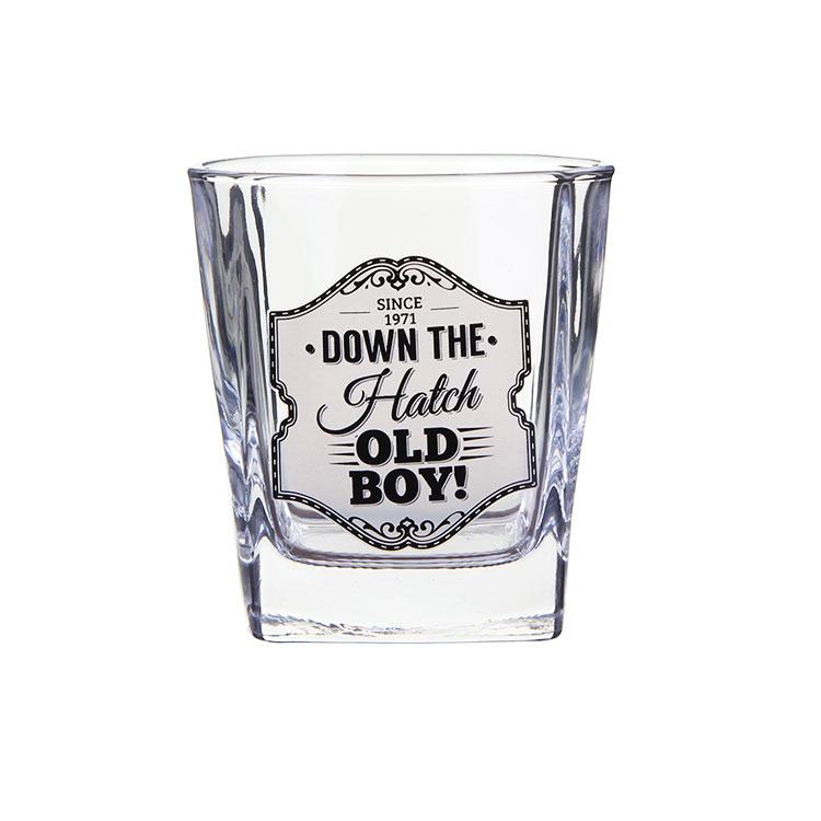 Gentlemens Quarters Whisky Glass Old Boy