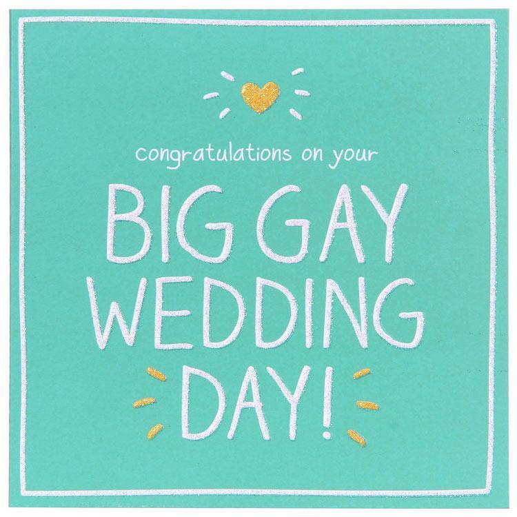 Happy Jackson Big Gay Wedding Day