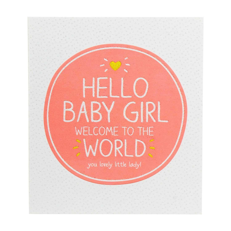 Happy Jackson Baby Girl Card