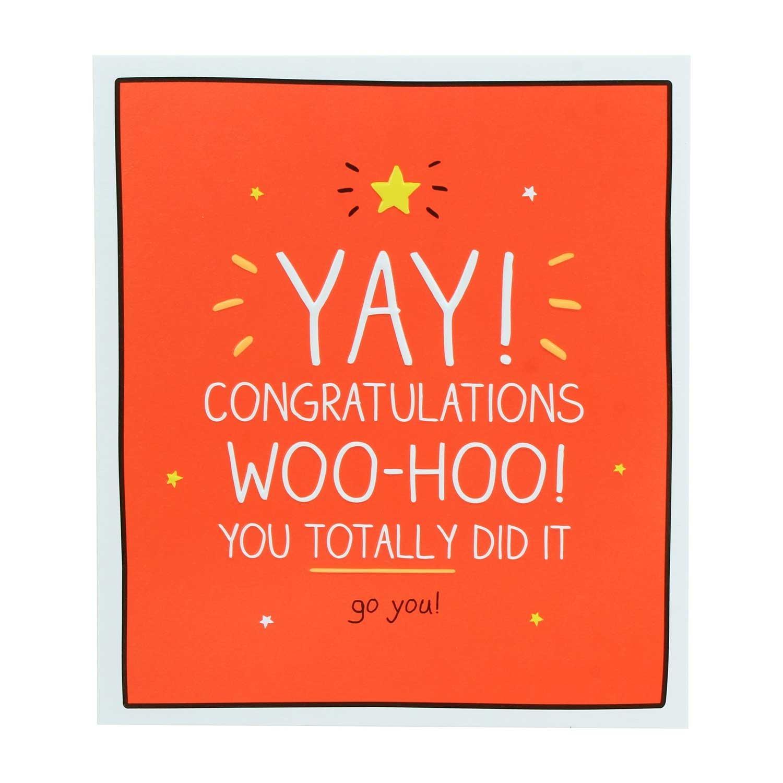 Happy Jackson Congratulations Yay Woo-Hoo! Card