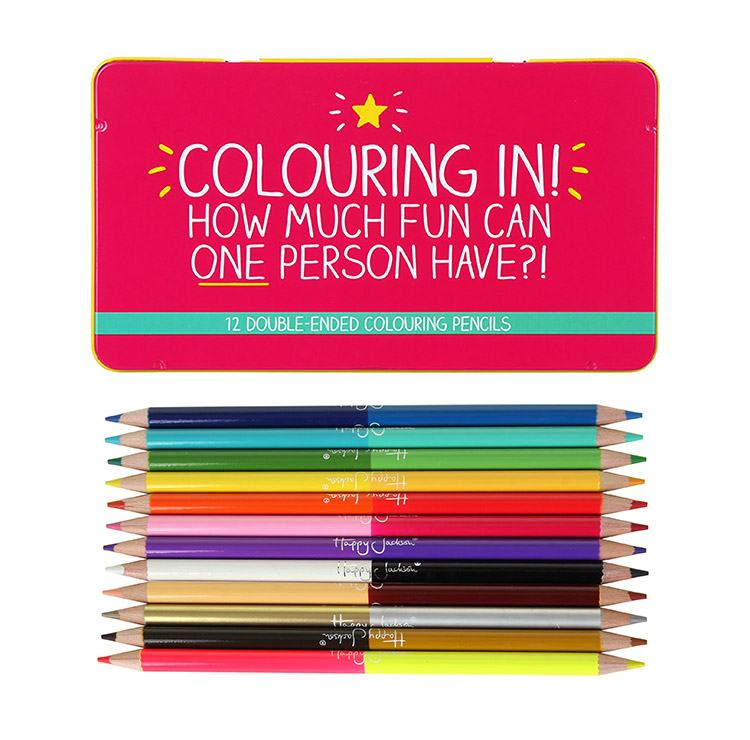 Happy Jackson Double-Ended Colouring Pencils