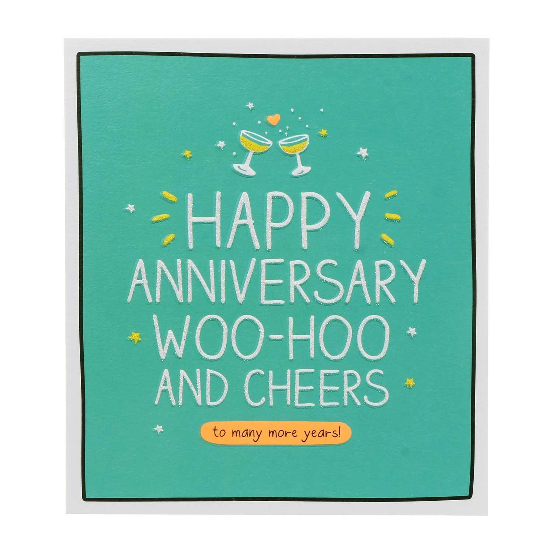 Happy Jackson Anni WooHoo And Cheers Card