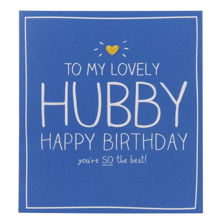 Happy Jackson Lovely Hubby Birthday Card