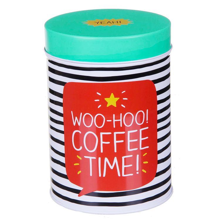 Happy Jackson Round Coffee Caddy
