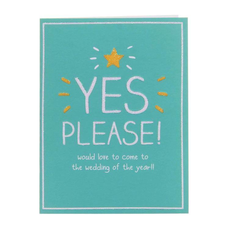 Happy Jackson Wedding Accept Small Card