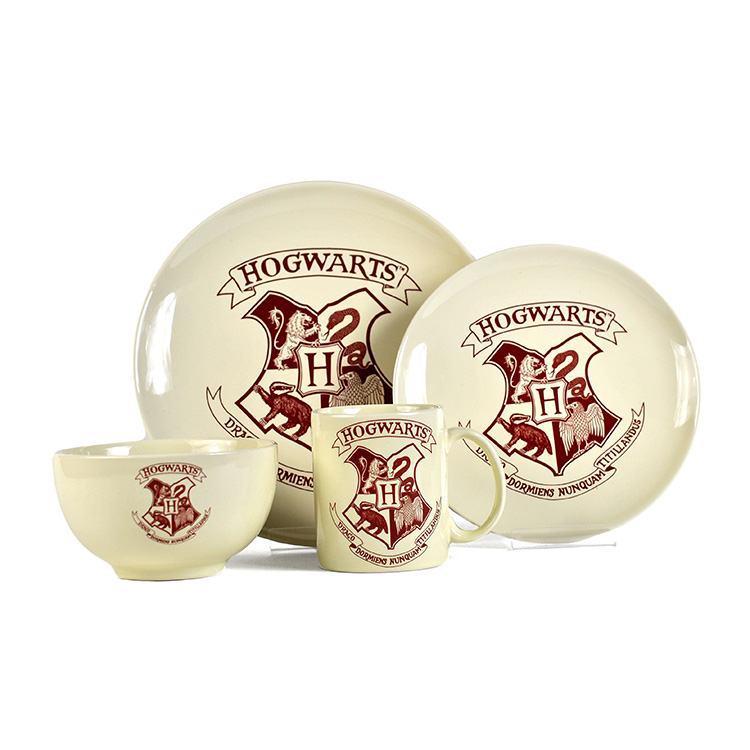 Harry Potter Hogwarts 4 Piece Dinner Set