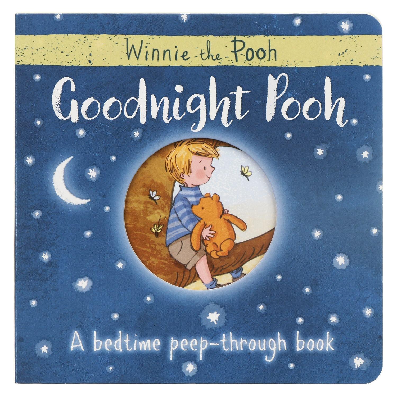 Winnie The Pooh Goodnight Pooh Bedtime Peep-through Board Book