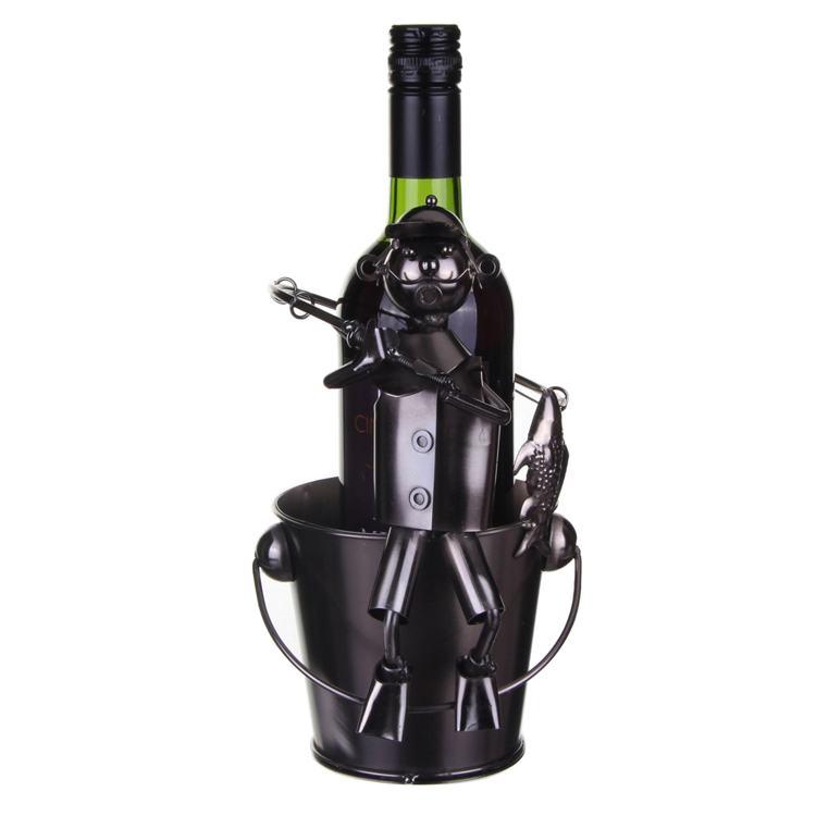 Philip Fisherman Wine Bottle Holder