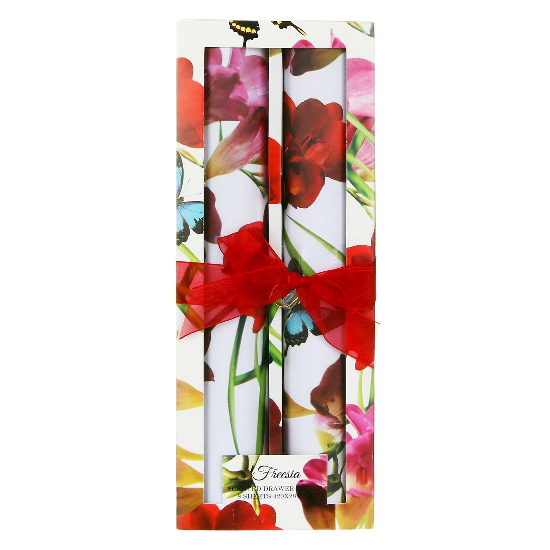 Fragrant Garden Set of Drawer Liners – Freesia