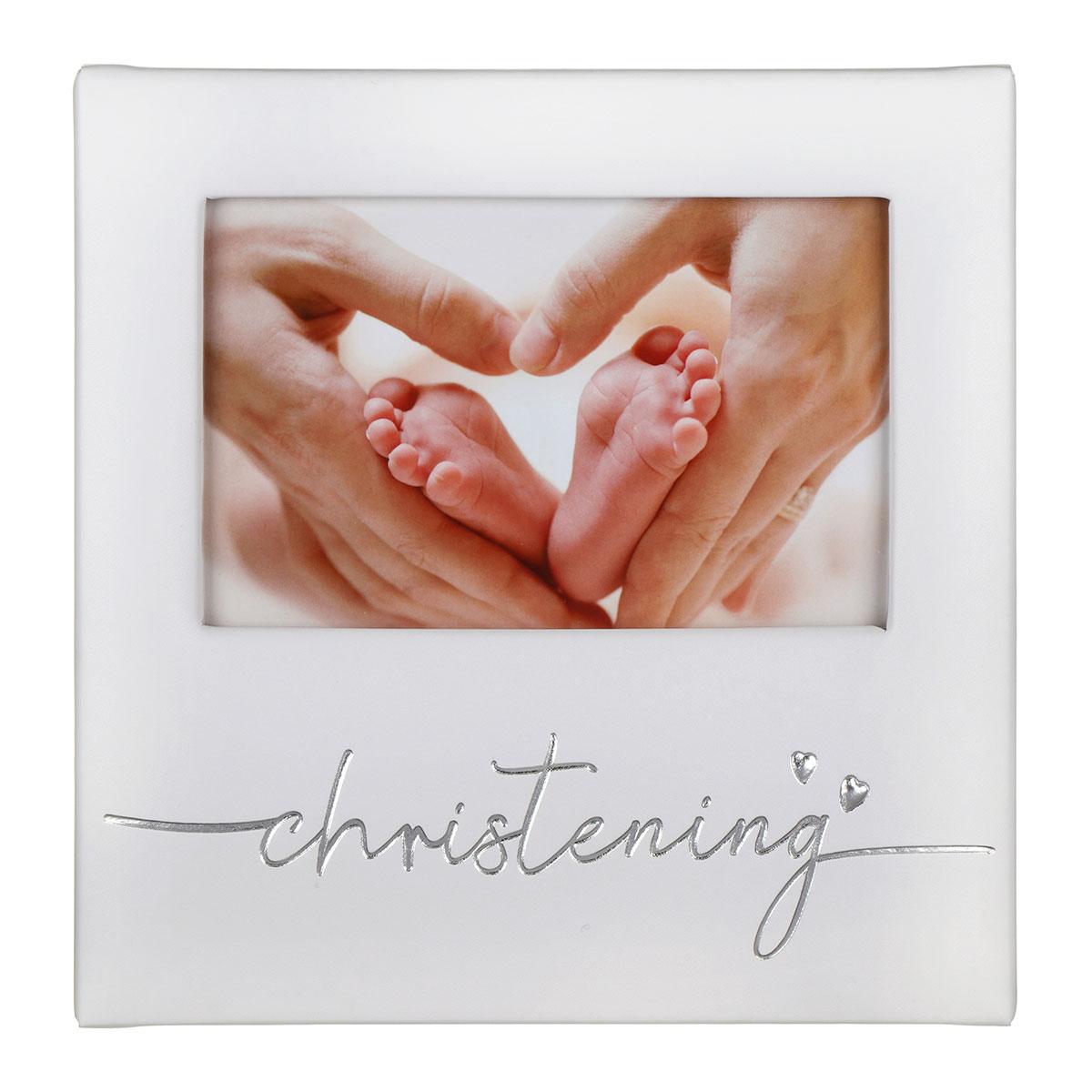 Christening Photo Frame 6x4