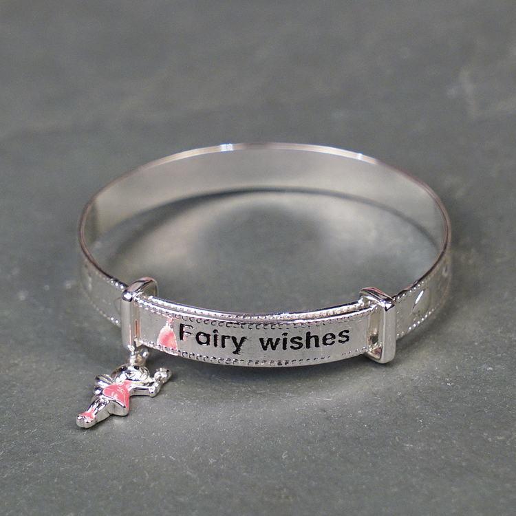 equilibrium girls fairy wishes charm bracelet