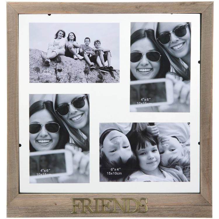 Friends Rustic Collage Frame