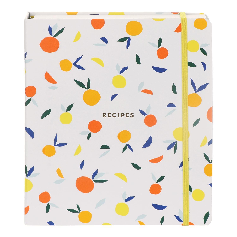 Kate Spade New York Citrus Twist Recipe Book